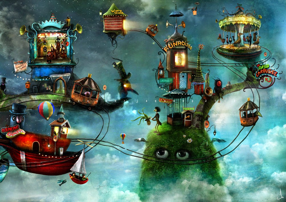 04-Alexander-Jansson-Fairy-tale-Worlds-in-Surreal-Paintings-www-designstack-co
