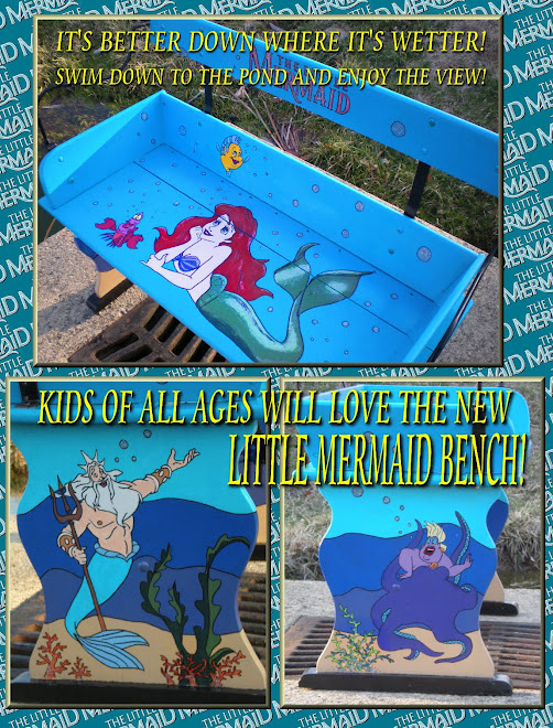 LITTLE MERMAID BENCH
