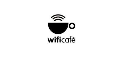 Логотип сети кафе WiFi Cafè