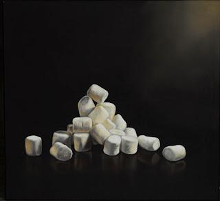 realistic painting of junk food by jeanne vadeboncoeur