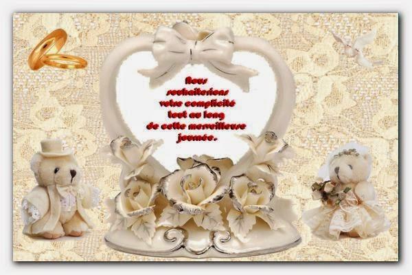Lettre d'invitation à un mariage