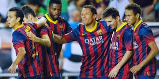 Hasil Pertandingan Rayo Vallecano Vs Barcelona 22 September 2013 Liga Spanyol