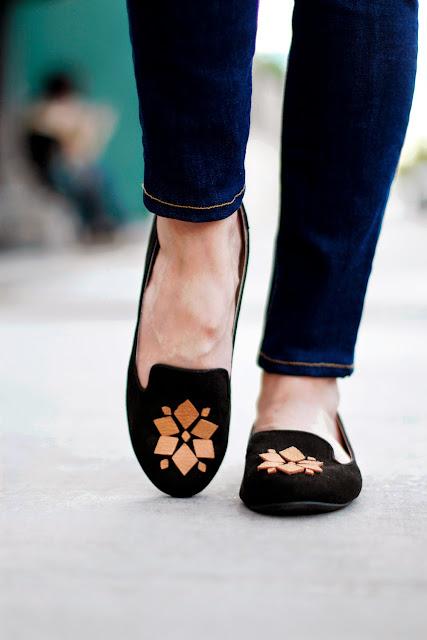 Makers + Shakers: Meet Kristi Murphy; loafer embellishment