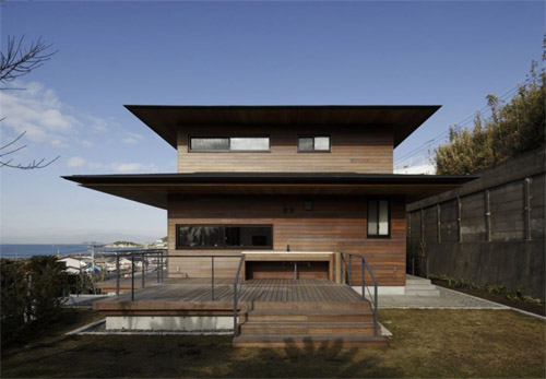 Modern japanese house of t residence by kidosaki architects studio home decoration ideas - Modern japanese house ...