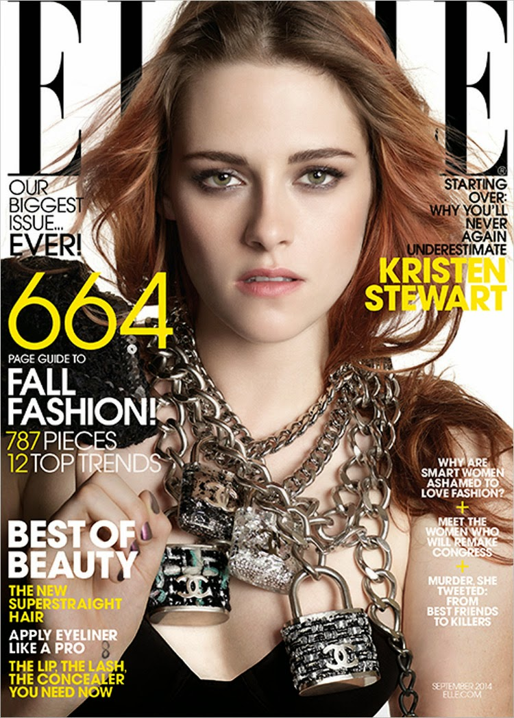 Kristen Stewart for Elle US by Michael Thompson