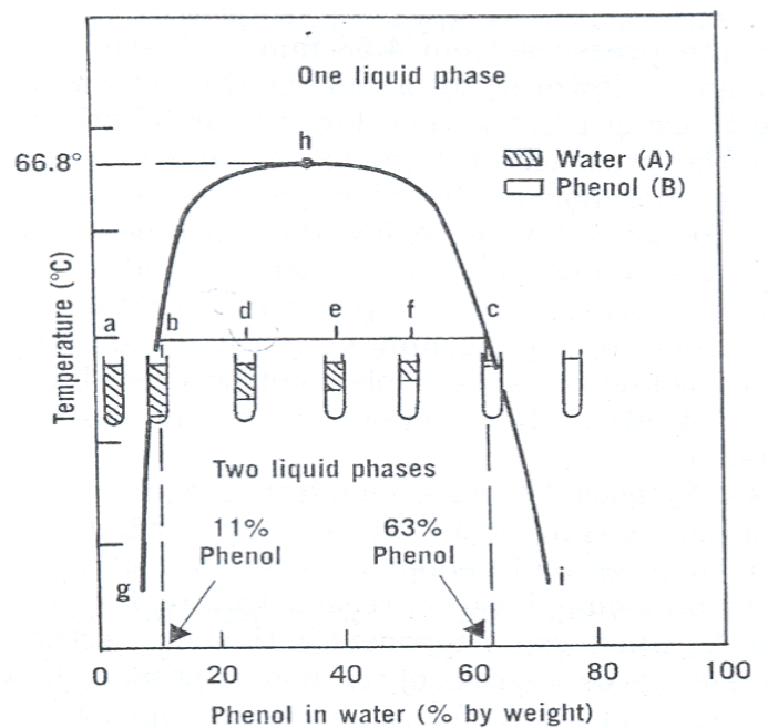 Eutecticfive  Experiment 2  Phase Diagram