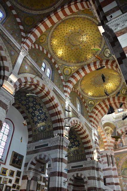 Basilica Notre-Dame de la Garde Marseille gold