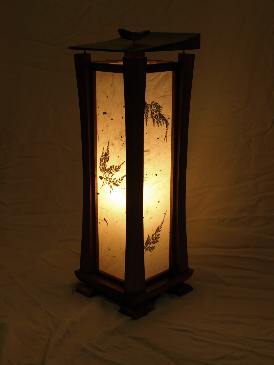 Lamp Stand Designs : Taylor benchworks shoji lamps finished