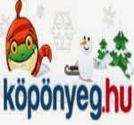 Köpönyeg.hu karácsonyi logo