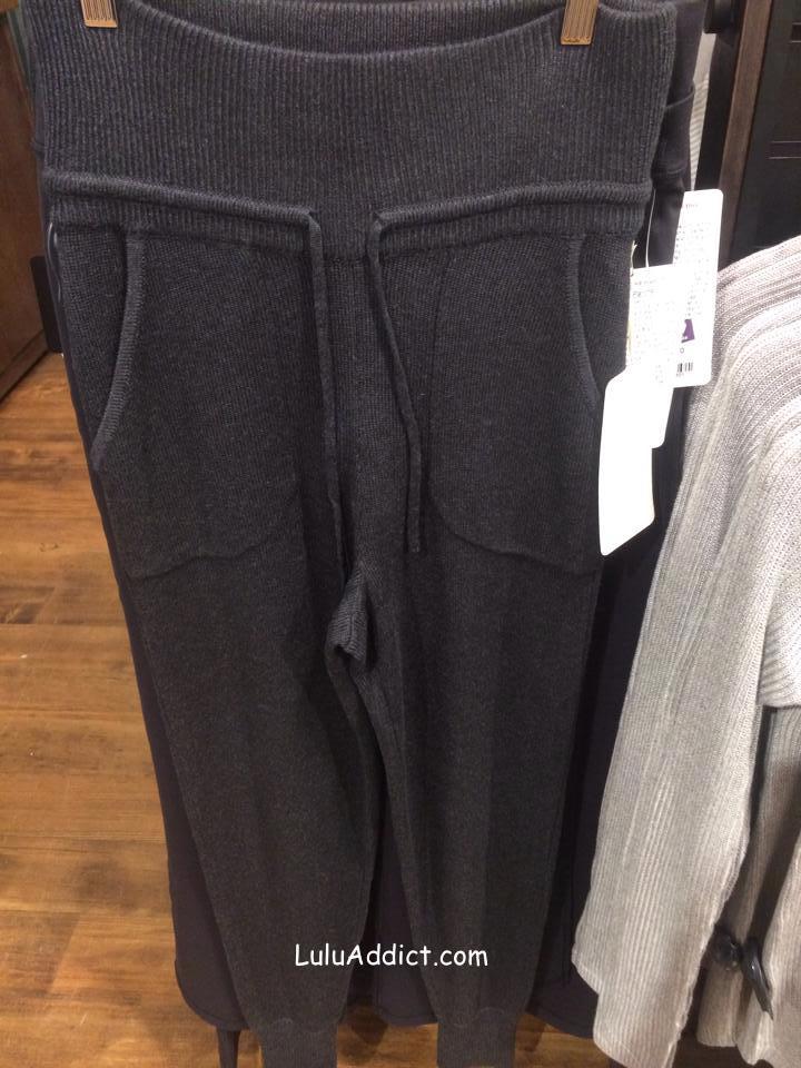 lululemon cabin yogi sweater pant