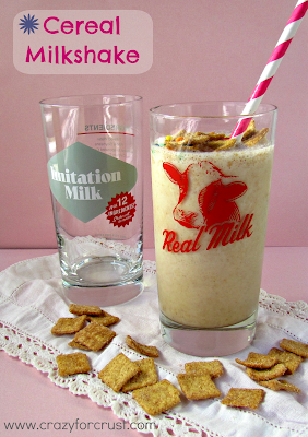 Recipe: Cereal milkshakes and real milk