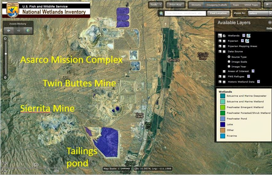Arizona Geology Fish Wildlife Service Releases Wetlands - Us fish and wildlife service national wetlands inventory map