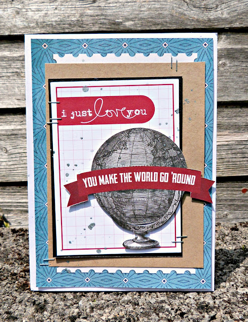 I just love you card tracee provis papermaze echo park