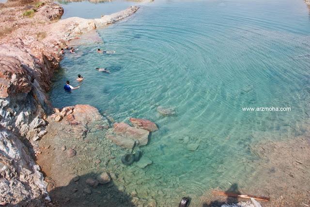 tempat menarik di pulau pinang, lombong cantik, guar petai