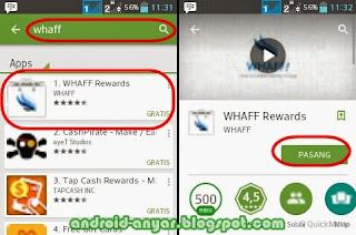 Tips dan Trik WHAFF: Cara Cepat Dapat Dolar di Android