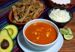 Sopa-Asteca