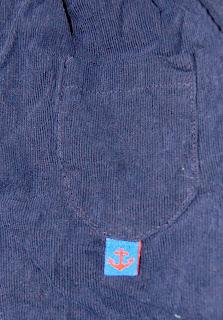 fløjlsbukser med bluse