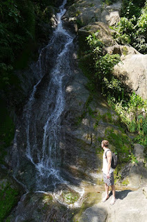 The old railway line walk, Tobia, Cundinamarca, Colombia.