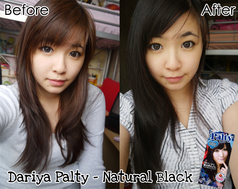 Ah Yan Blog Dariya Palty Japan Colour Hair Dye Natural