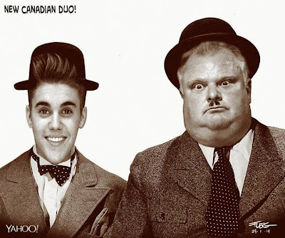 Justin Bieber and Mayor Rob Ford