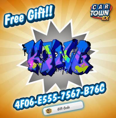 Car Town EX Free Gift Graffiti 2