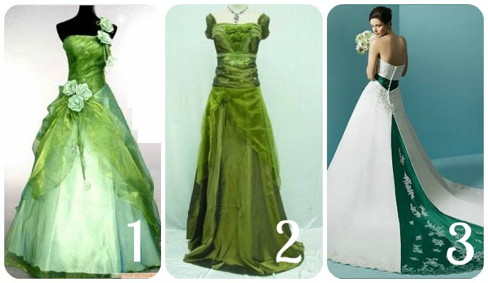 Green with wedding dress envy Tilly Tabitha The Blog