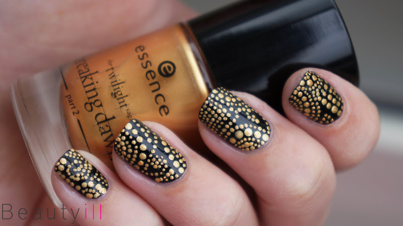 Diy Nail Art Versace Inspired Dots Beautyill