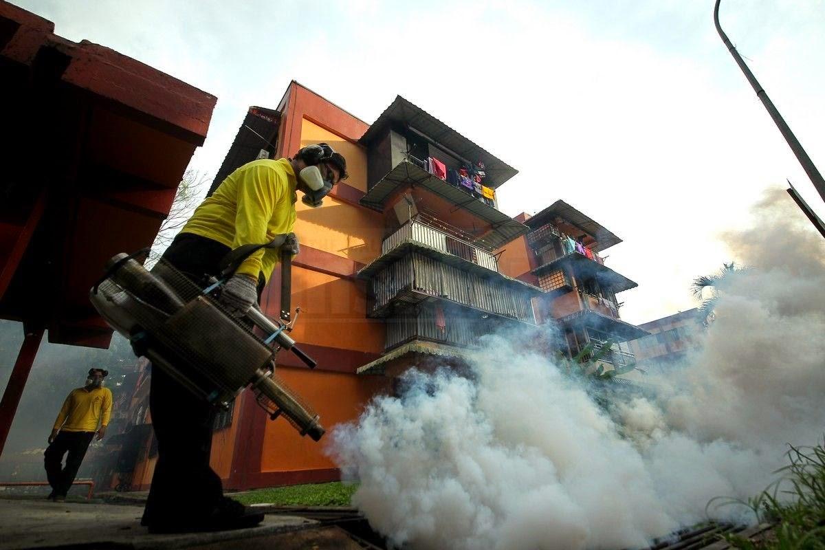 Kes denggi di P. Pinang meningkat 161.5 %