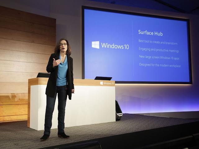 презентация моноблока Surface Hub