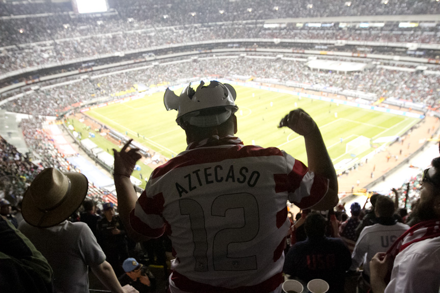 I Can T Imagine A Better Place To Experience Being A Us Soccer Fan Then Spending A Night In Azteca For A Usa Vs Mexico World Cup Qualifier