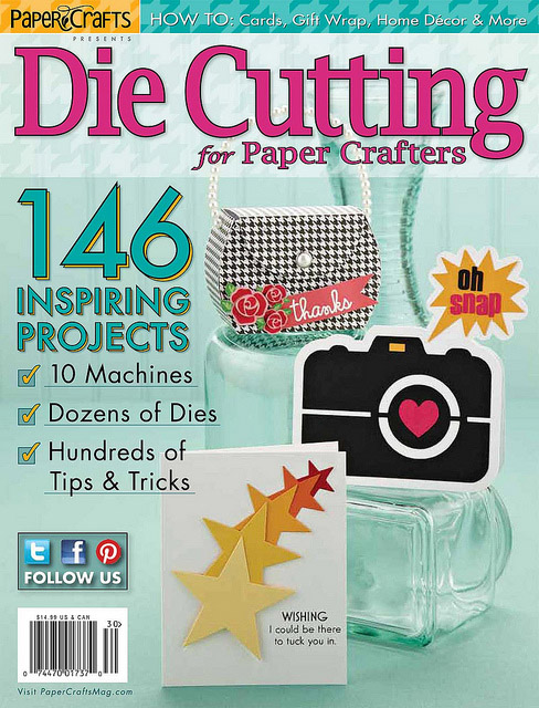 Wings of a butterfly paper crafts magazine presents die for Die cutting machines for crafts