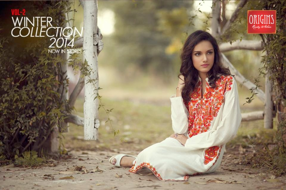 Winter Kurti Designs, Kurti Designs 2015, Kurti For Girls.