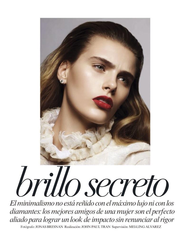 Magazine Photoshoot : Madison Headrick Photoshoot For Vogue Magazine Mexico January 2014 Issue