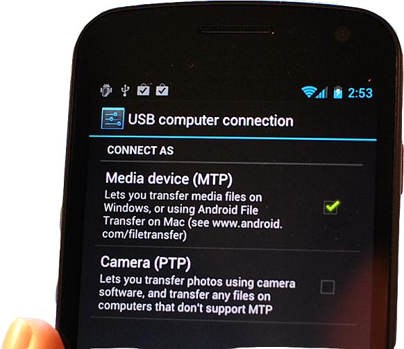Perbedaan Mode MTP Dan UMS Pada Android