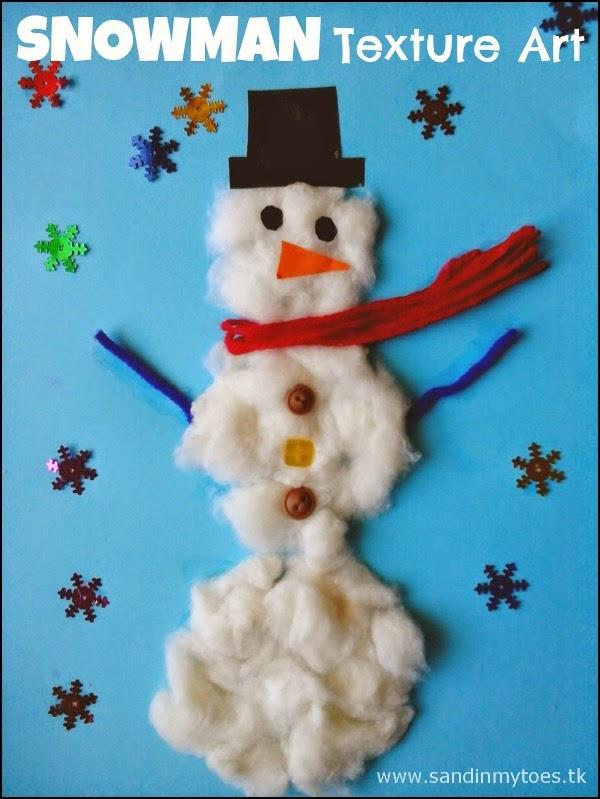 Snowman Texture Art