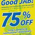 Cebu Pacific 75% Off Sale