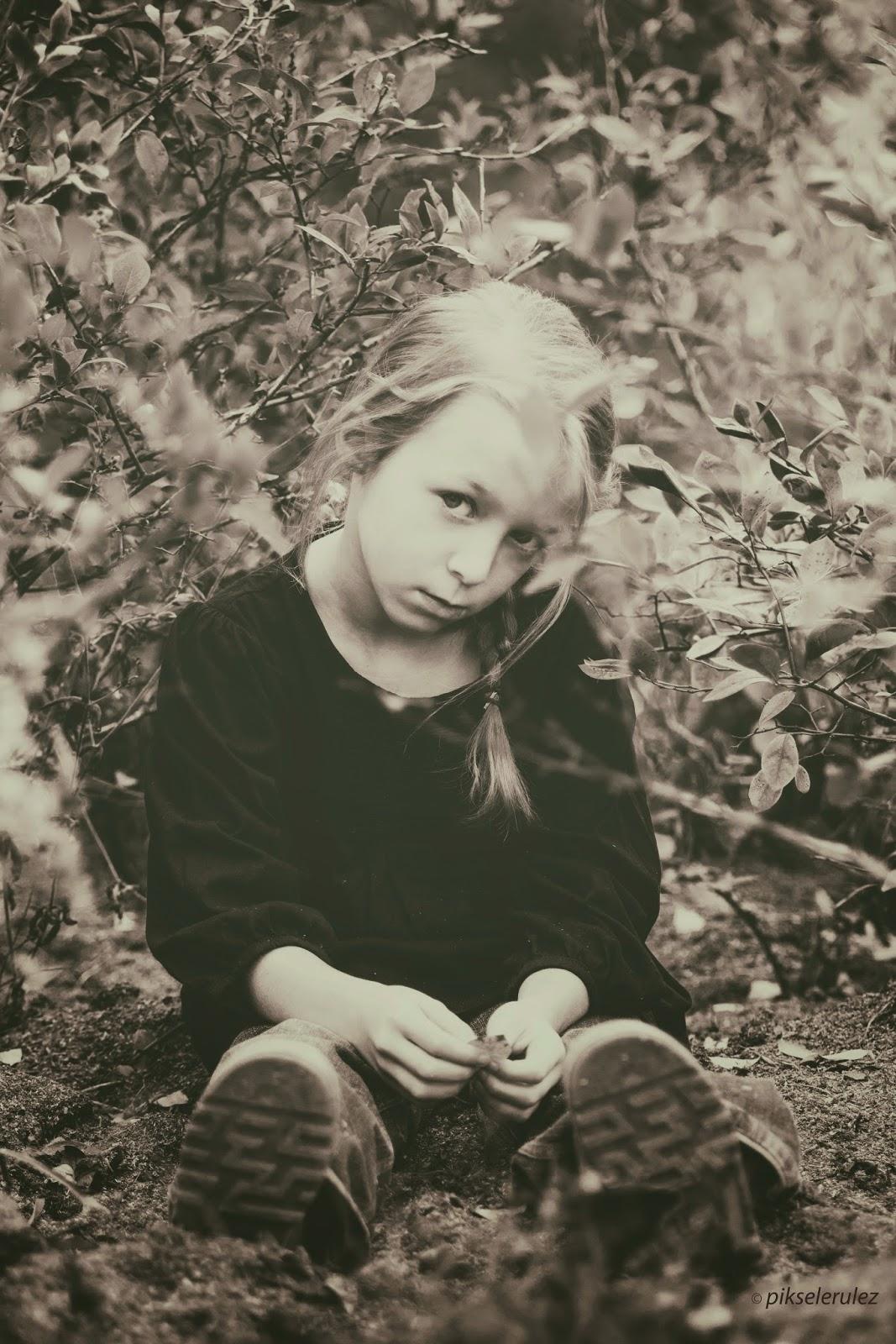 portret, portraits, black and white, czerń i biel, szarości, Bory Tucholskie, dzieci, Agata Raszke