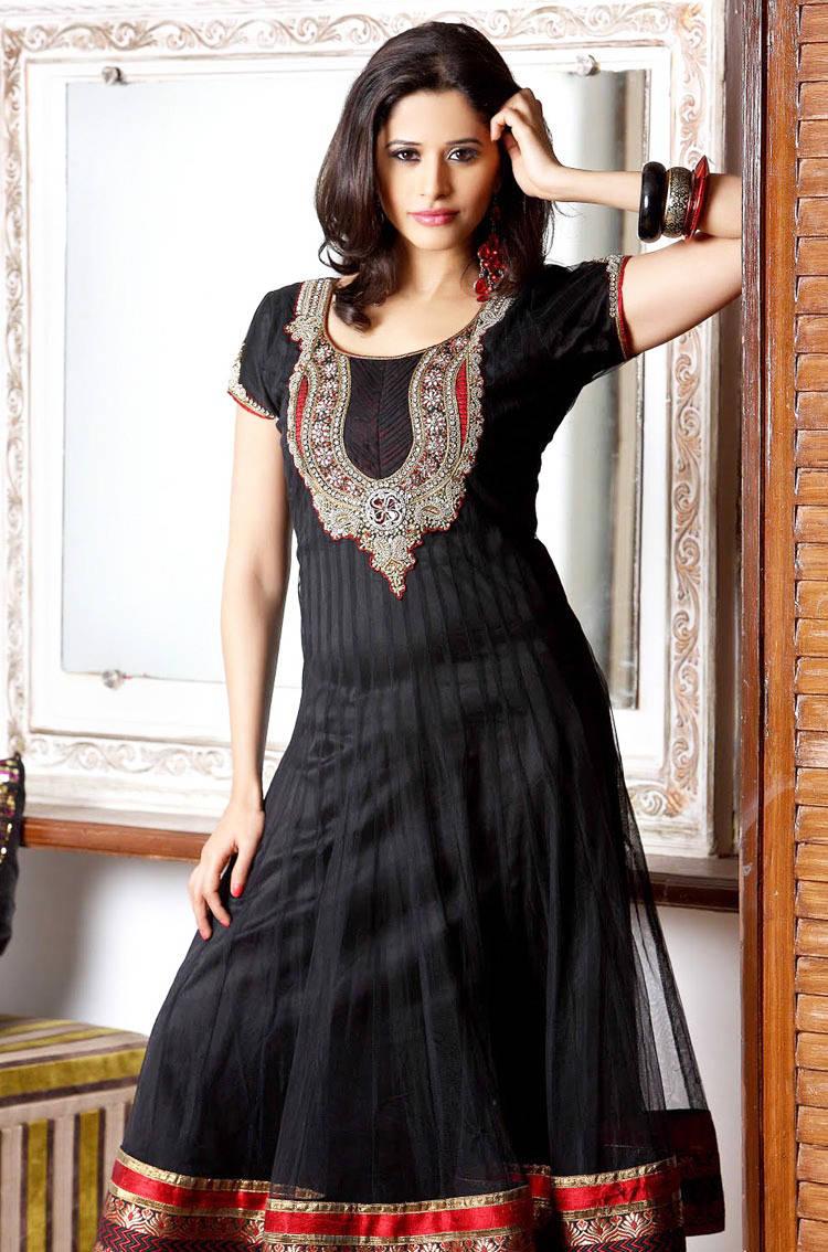 latest churidar stylish froks