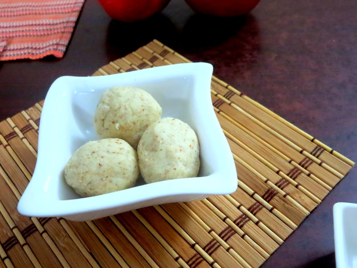 Cooking without fire oats recipes cooking without fire oats recipe no cook cashew almond ladoo easy diwali sweets cooking without fire forumfinder Choice Image