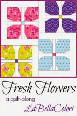 Fresh Flowers Quilt Along