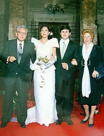 il matrimonio Rauti Alemanno