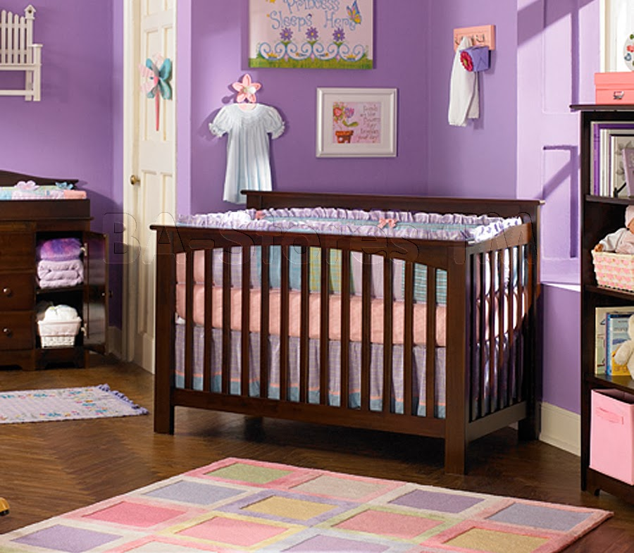 Elegant Bed for life Columbia Convertible Baby crib