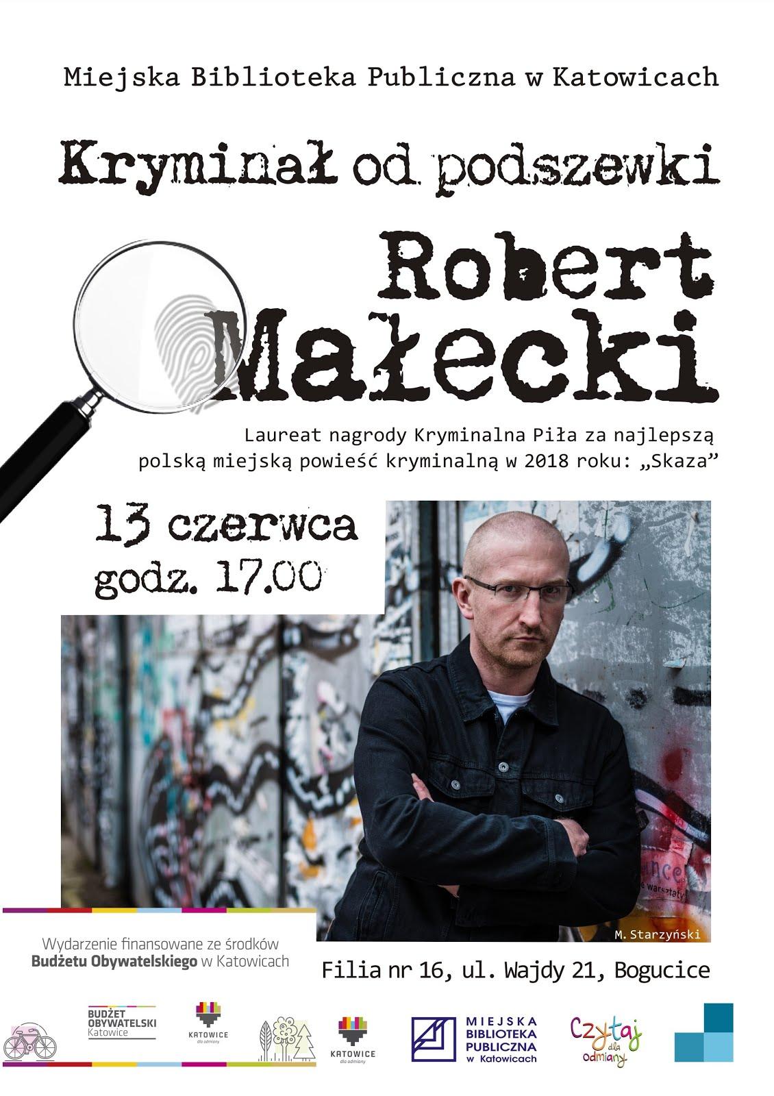 Spotkanie autorskie z Robertem Małeckim