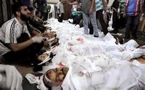 Gambar Kejam Sebahagian 529 Rakyat Mesir Di Hukum Gantung Sampai Mati