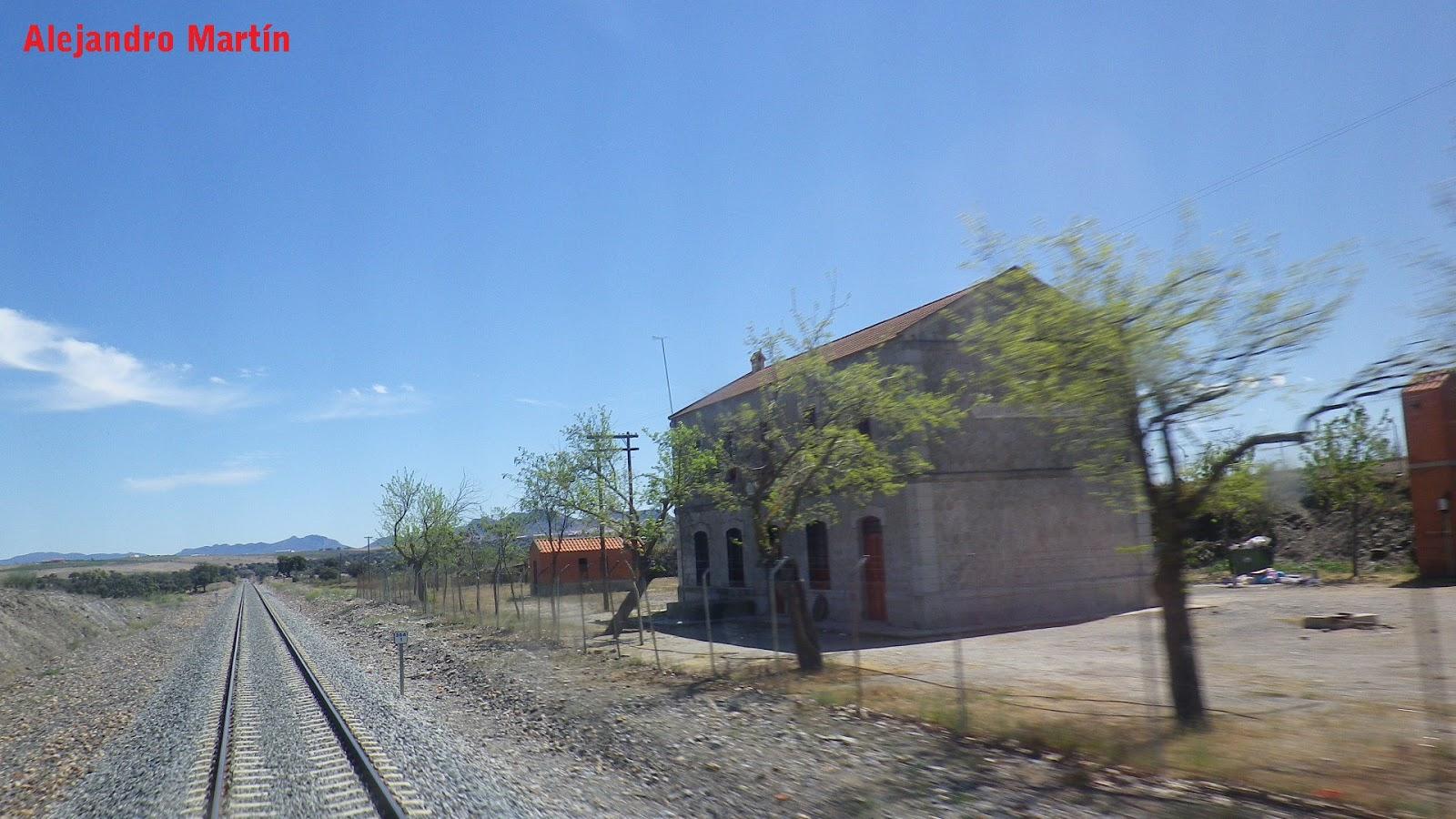 Estaciones De Ferrocarril De Espa A Quintana De La Serena