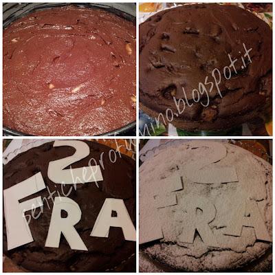 Torta cioccolato fondente e pere