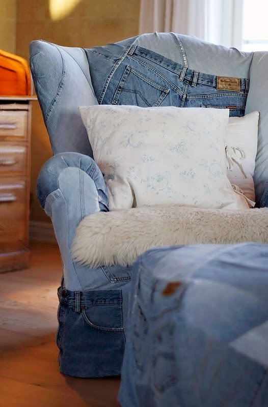 Cinco Ideas para Reutilizar Jeans