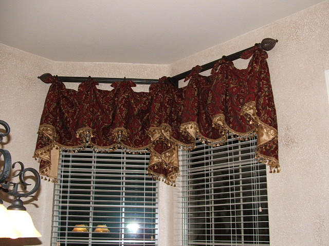 Kitchen curtain patterns kitchen ideas - Kitchen valance patterns ...