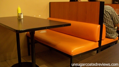 seats Zark's Burgers Taft Avenue, Manila