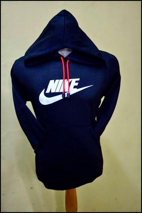 Jumper Hoodie Bola Polos (Satu Warna) - Nike